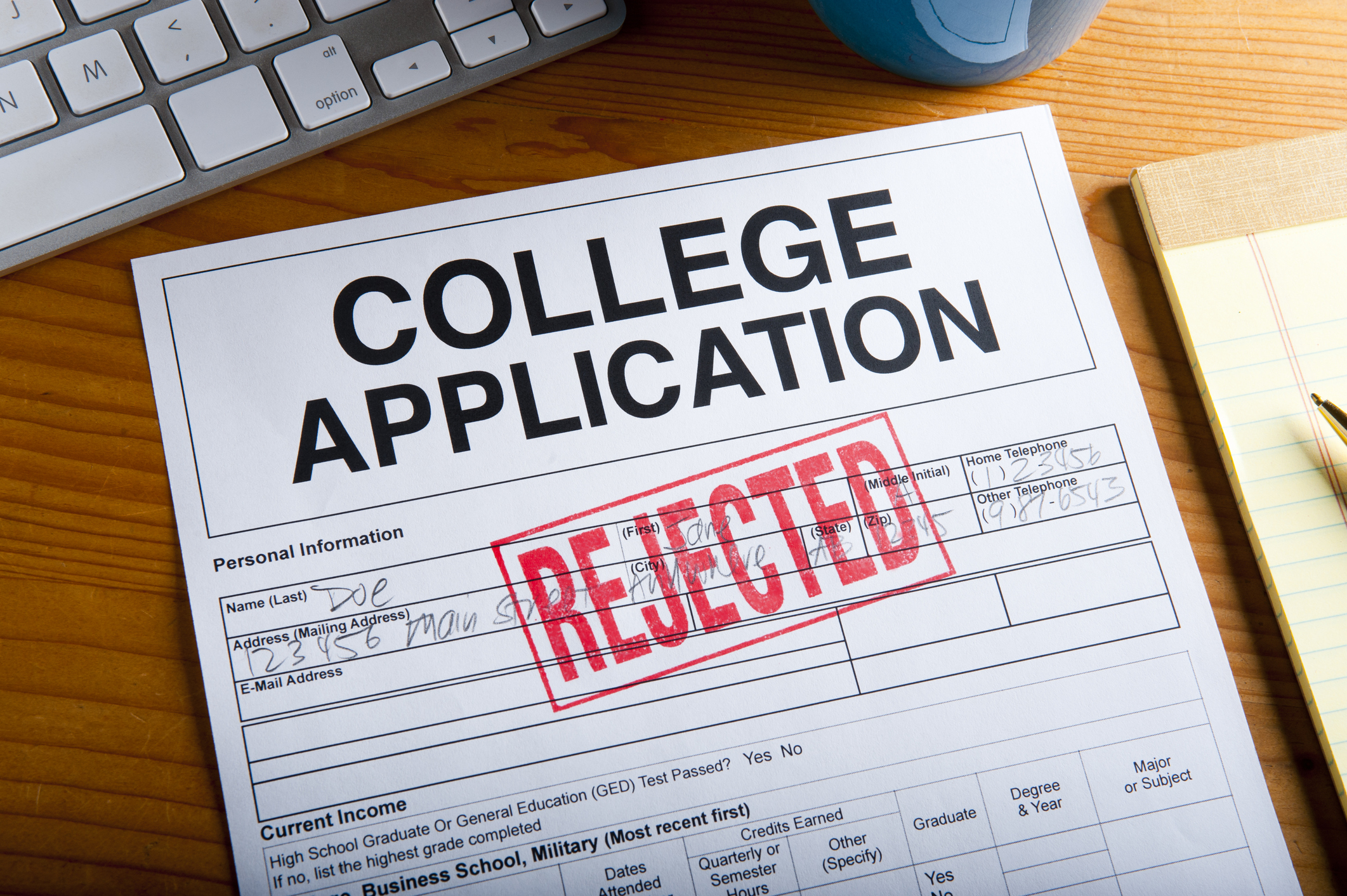 6 Common Reasons Why College Applications Get Rejected ...