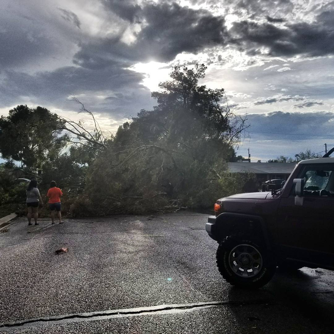 Summer storm delays flights causes power outages in phoenix arizona news us news