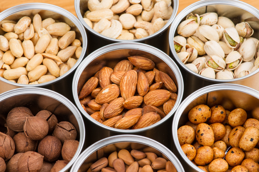 Image result for woman eating brazil nuts, walnuts, almonds, pistachios and peanuts