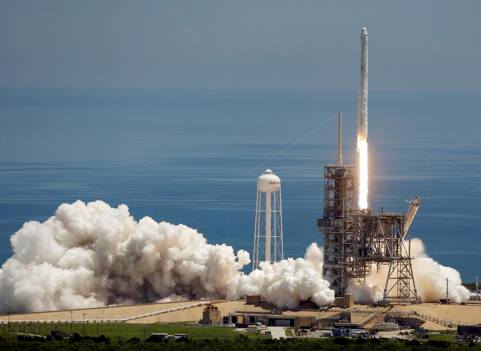 Spacex launches experiments ice cream to space station for Space station florida