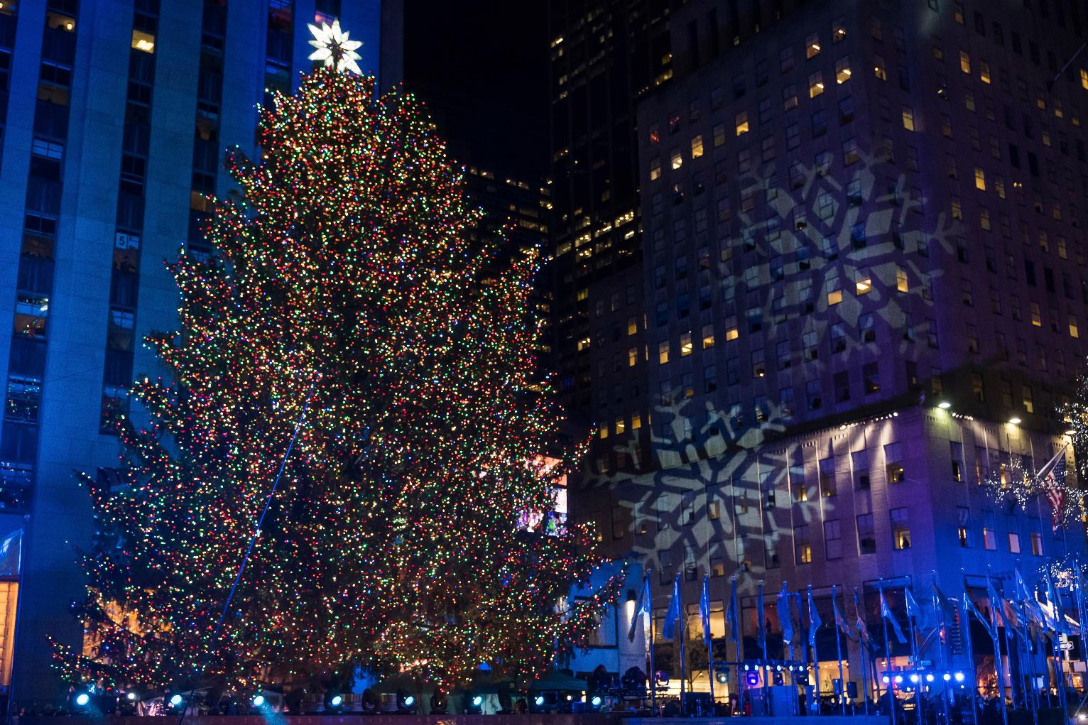 Rockefeller Christmas Tree Lighting Attracts Thousands | New York News | US News & Rockefeller Christmas Tree Lighting Attracts Thousands | New York ... azcodes.com