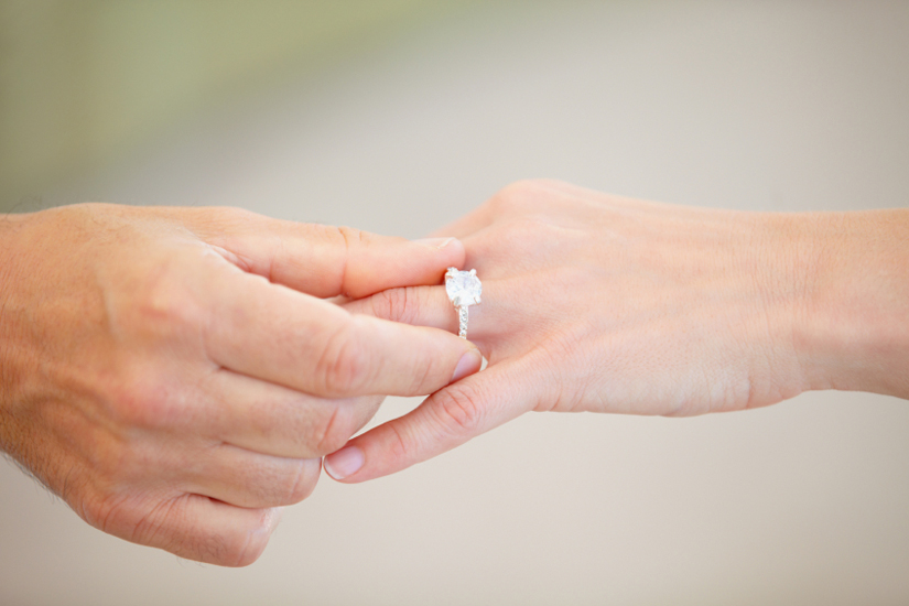 8 ways to save money on an engagement ring my money us news - A Wedding Ring