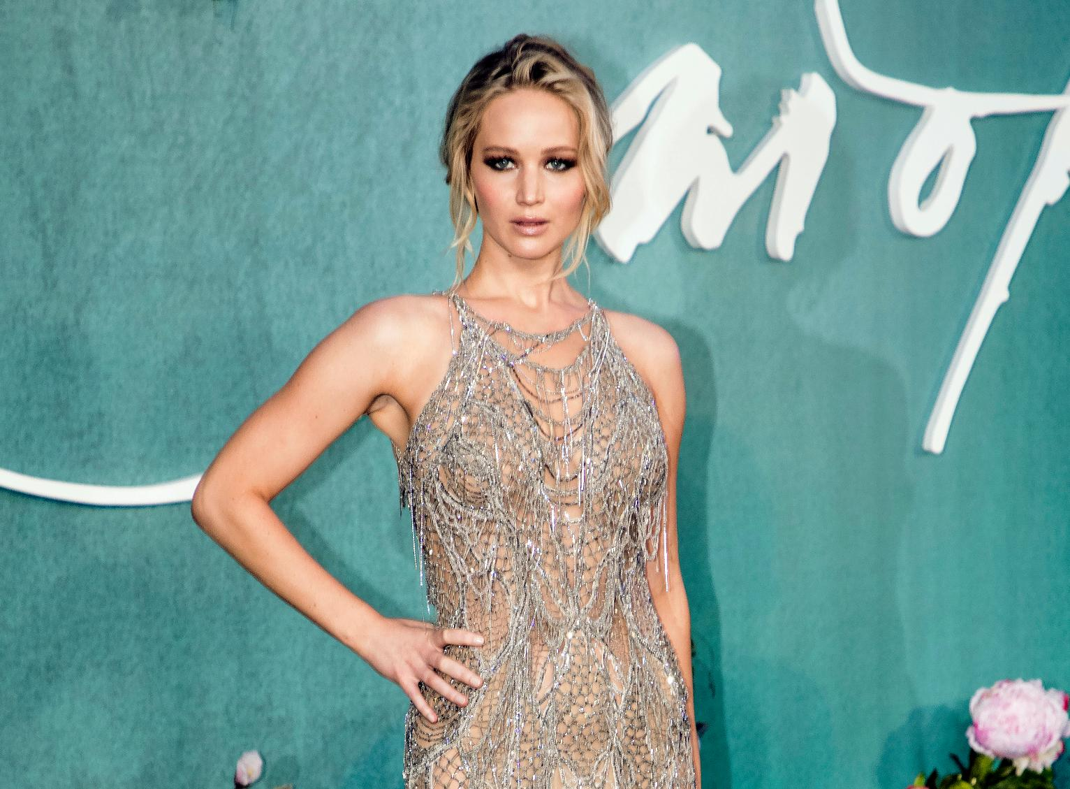 Jennifer Lawrence Suggests Storms Are Mother Natures Rage
