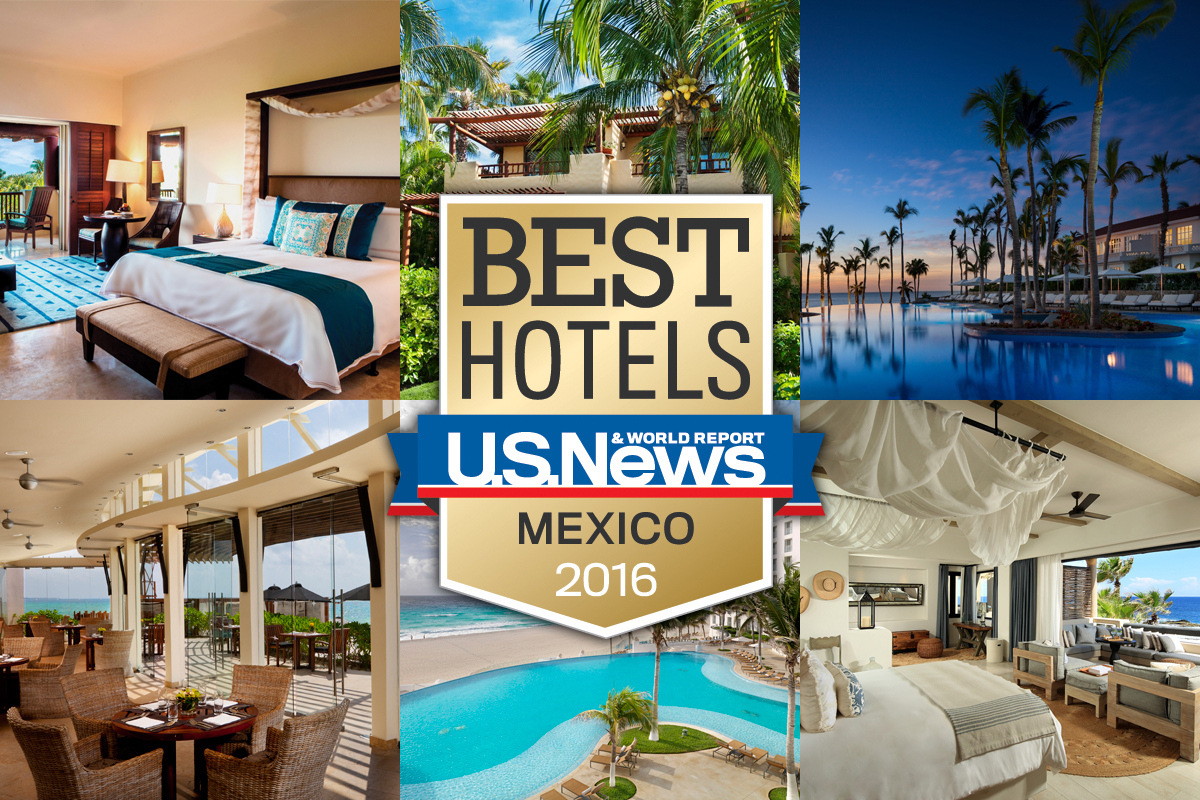 The 10 best hotels in mexico 2016 travel us news for Best hotel in america