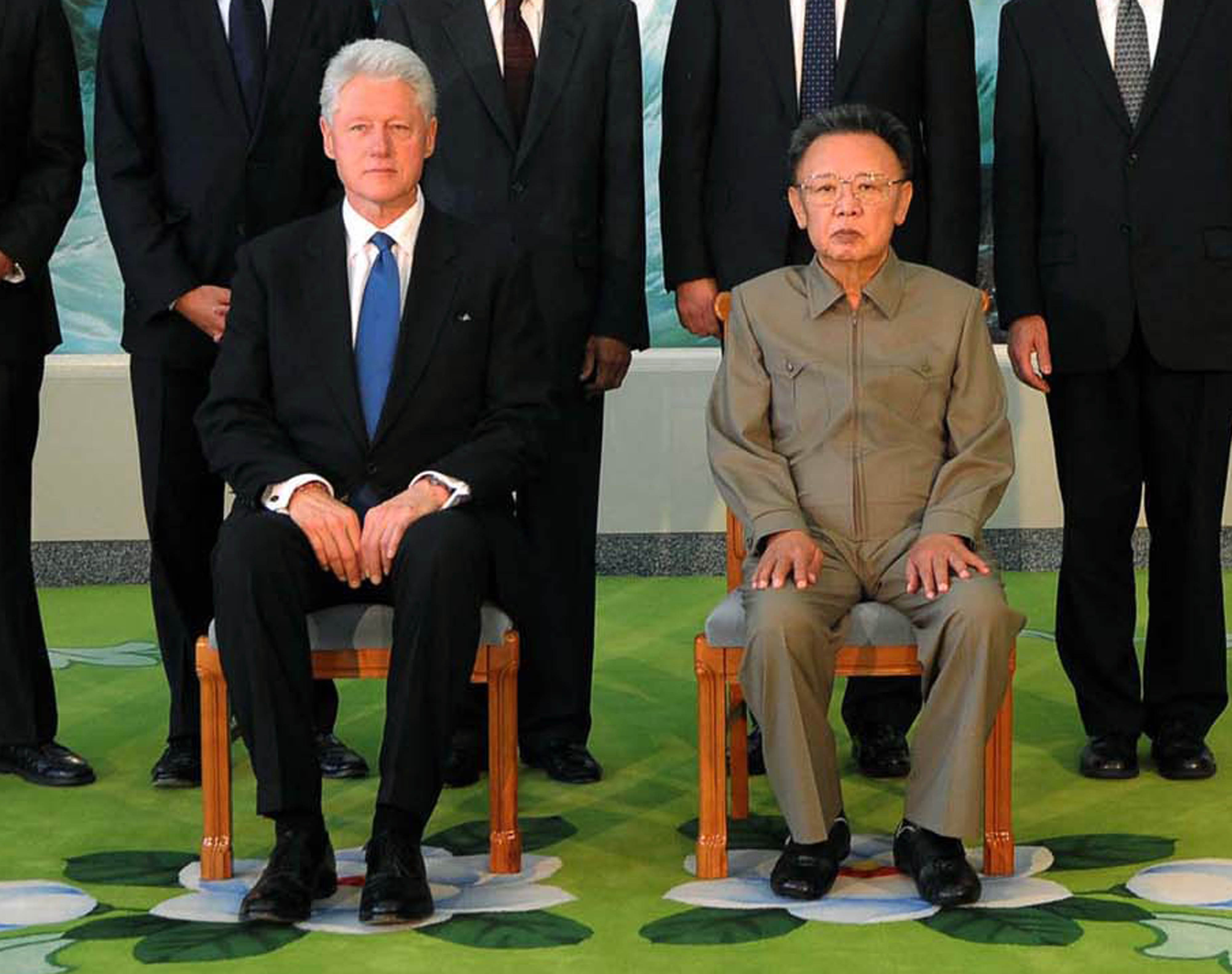 Image result for clinton + kim jong il