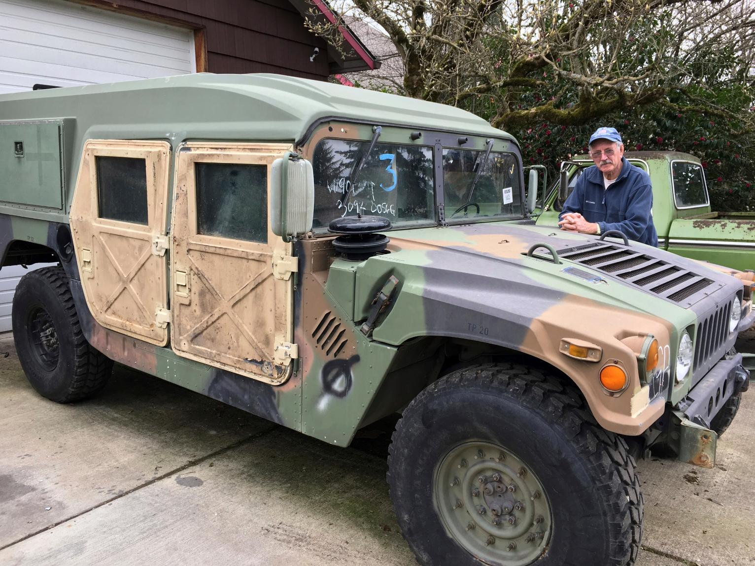 Oregon Drivers May Share Roads With Military Surplus