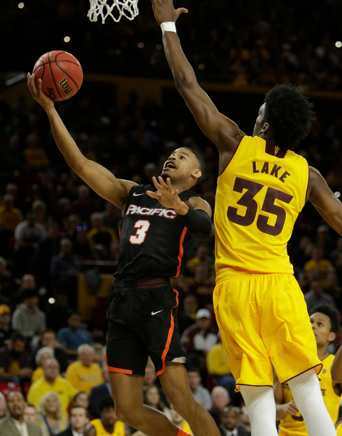 No. 3 Arizona State Rolls Over Pacific 105-65 | Sports ...