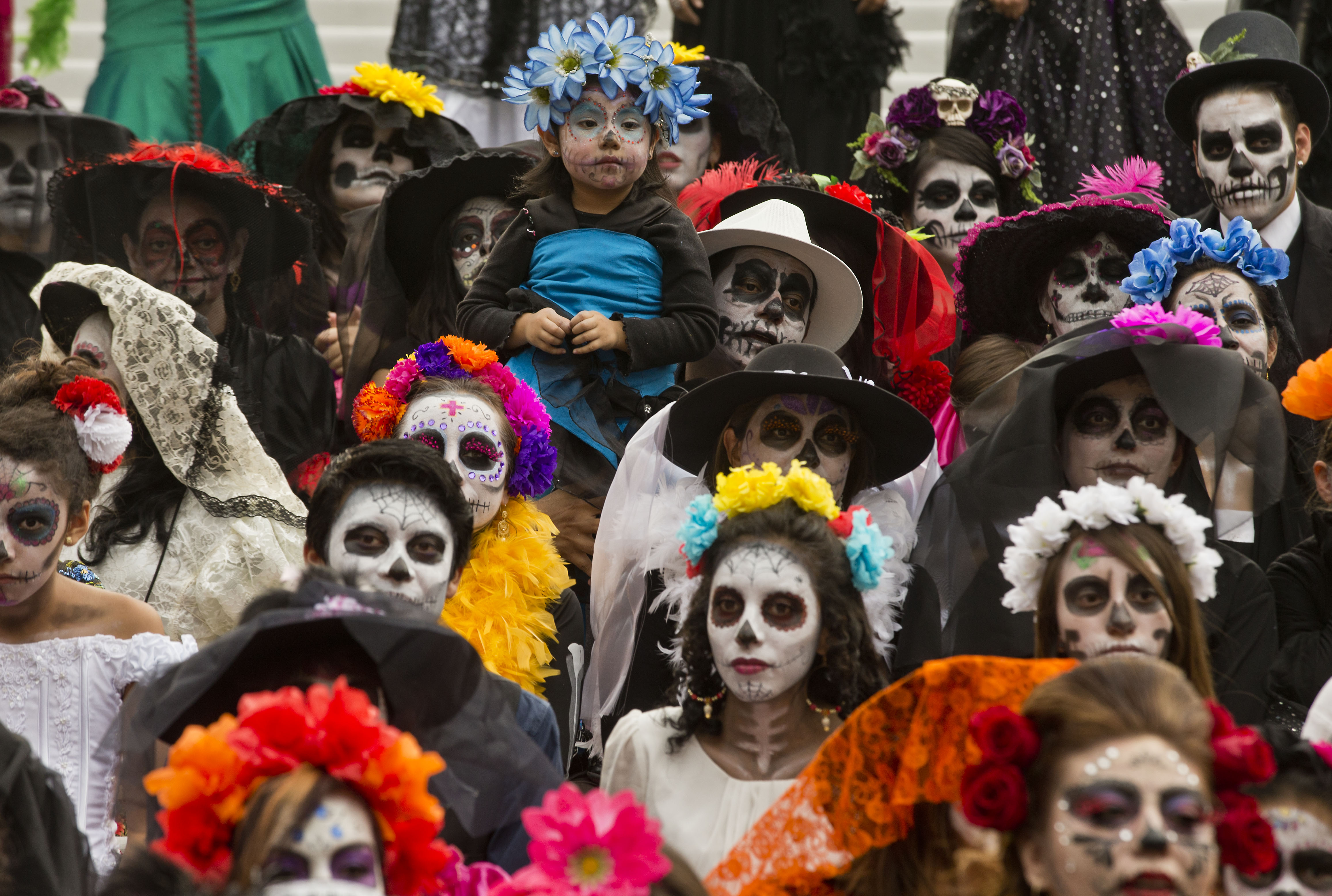 Photos The Day Of The Dead Civic Us News
