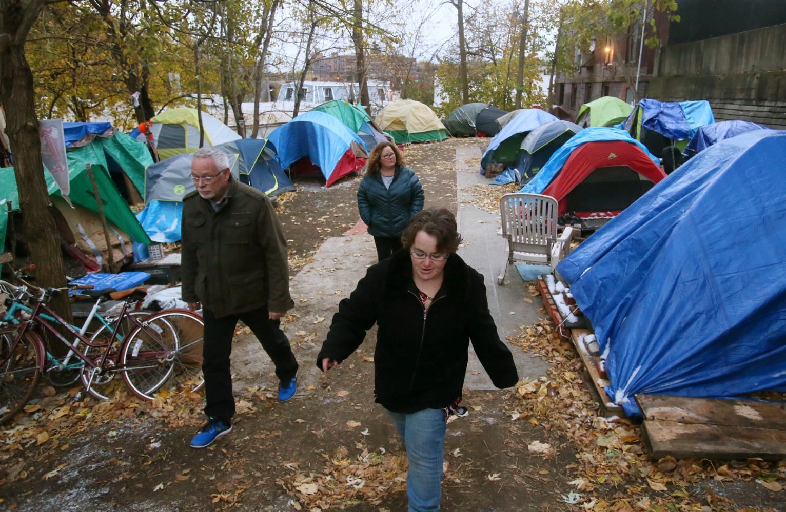 Ohio Tent City Is a Refuge for the Homeless and Displaced. | Ohio News | US News & Ohio Tent City Is a Refuge for the Homeless and Displaced. | Ohio ...