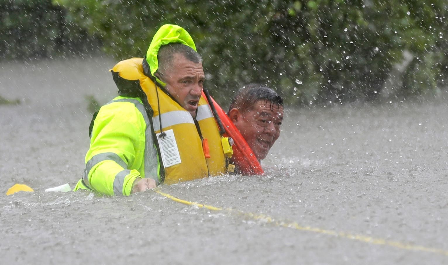 The Latest: Water Releases Begin on Houston-Area Reservoirs | Texas News | US News