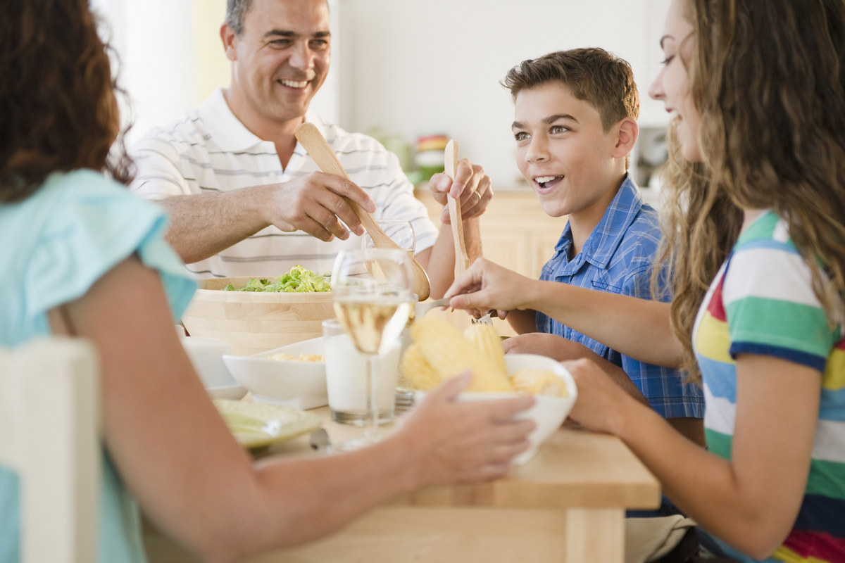12 Questions You Should Ask Your Kids At Dinner Family