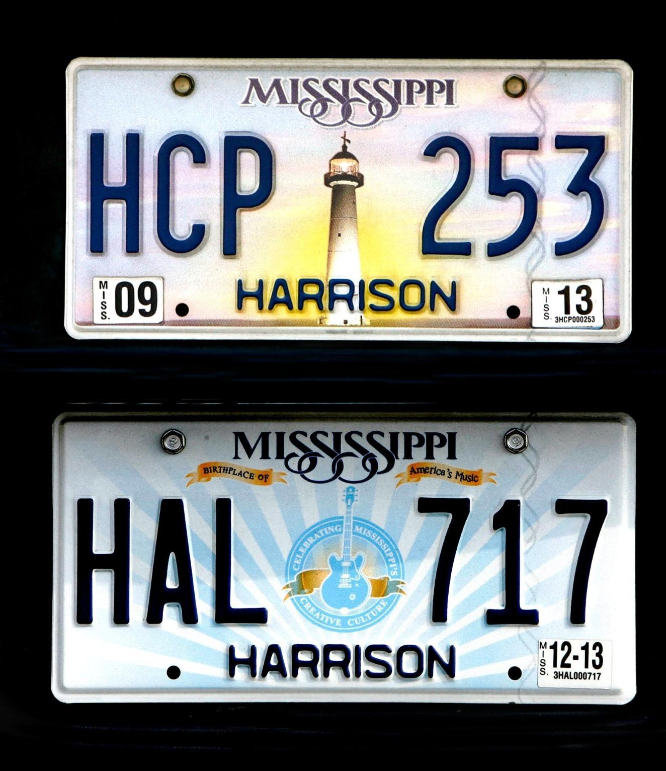 Mississippi Has the License Plate Blues for 1 More Year ...