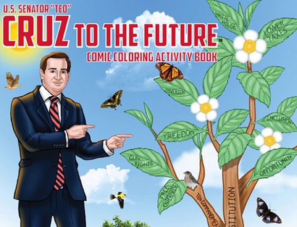 Ted Cruz Coloring Book Becomes Top Seller