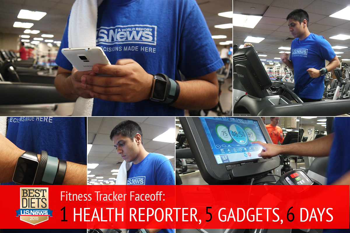 Fitness Tracker Faceoff: What I Learned Wearing 5 Gadgets ...