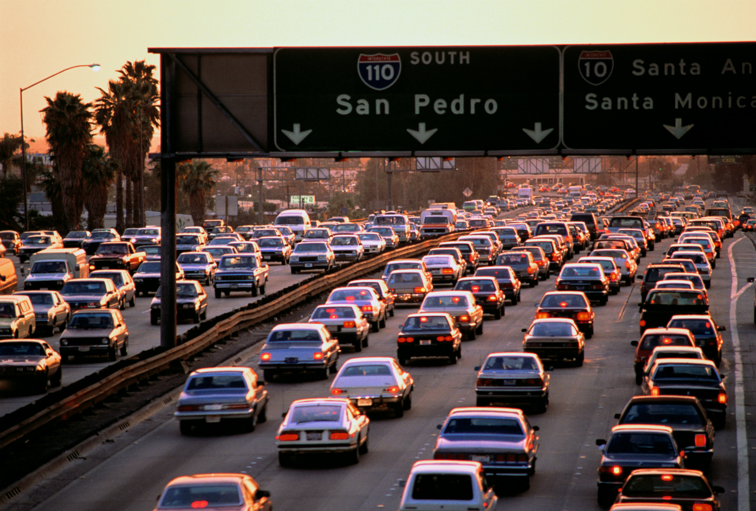 States where the traffic is getting worse best states for Best parking near lax