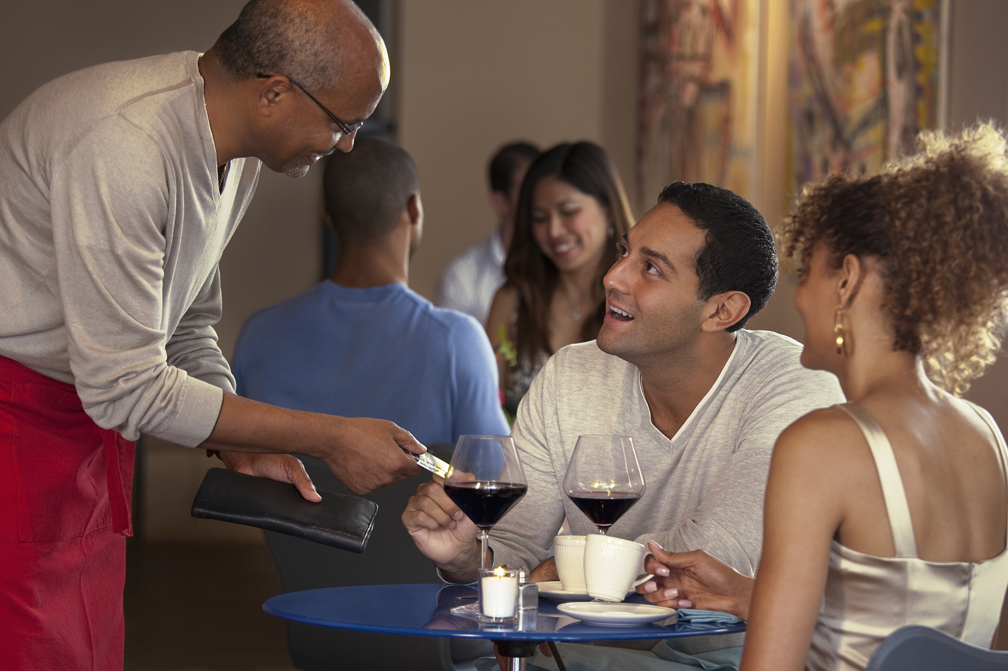 check please paying the bill in 6 awkward situations