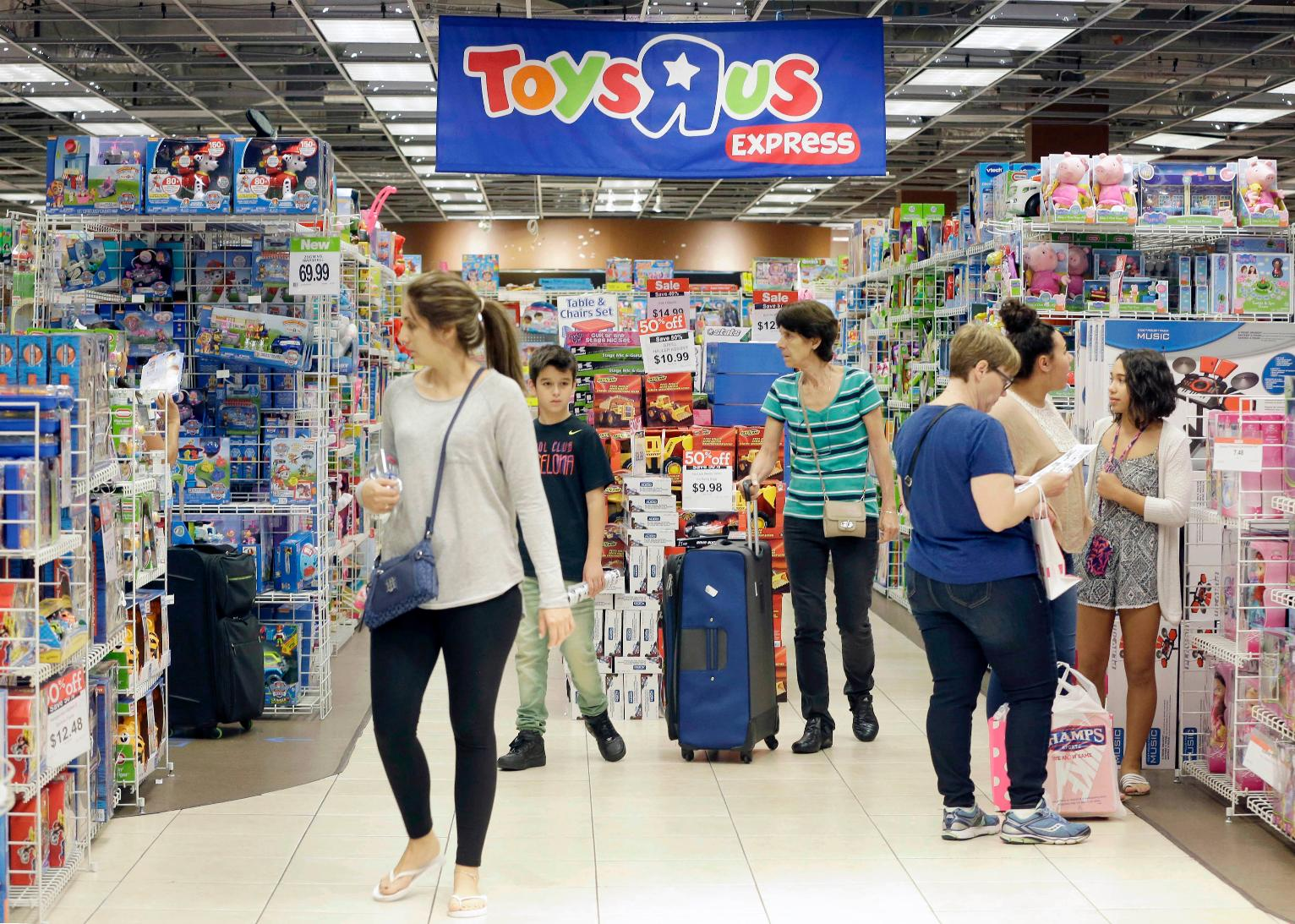 Toys For Business : Toys r us files for bankruptcy but keeps stores open