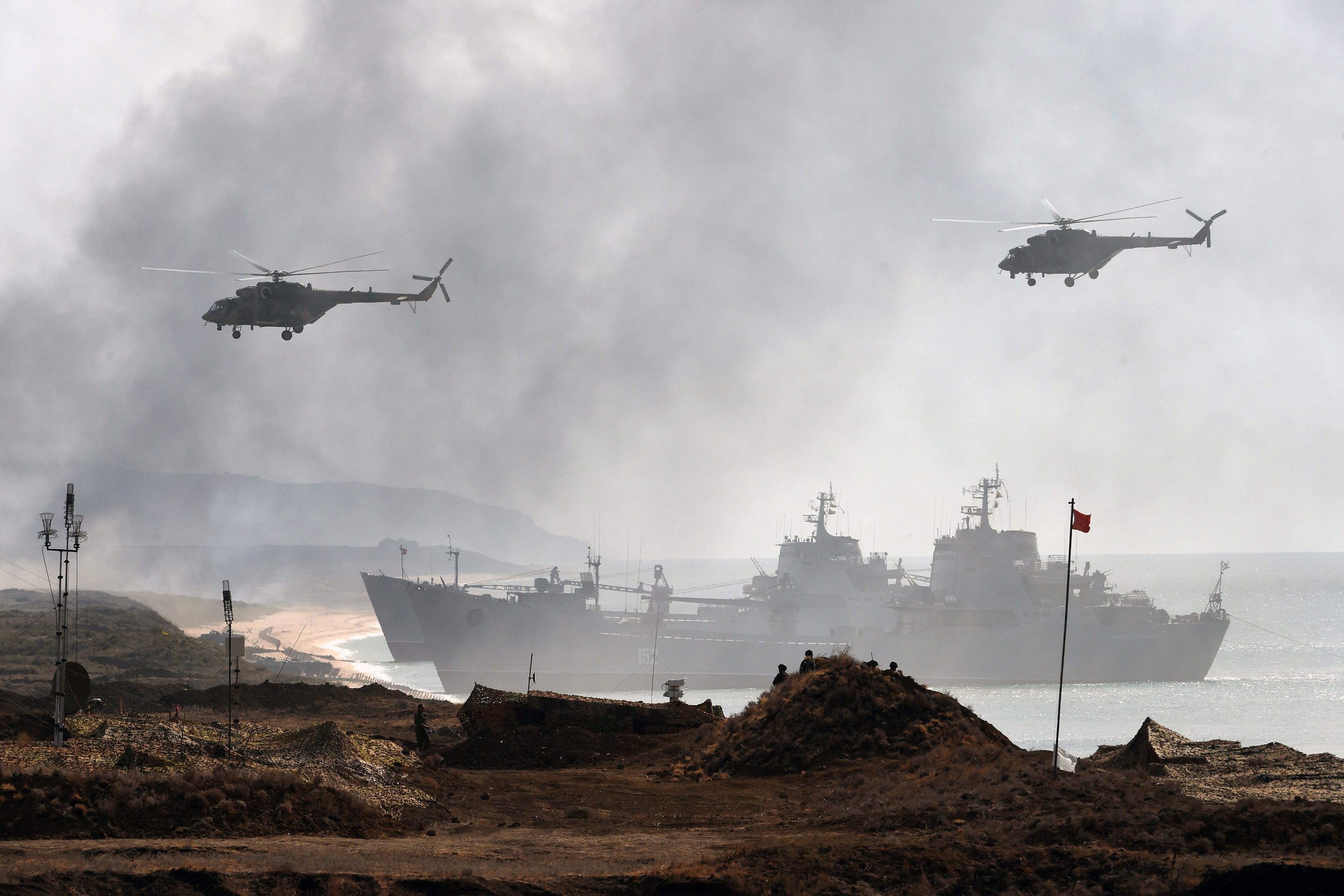 Russias Ramping Up for War Where Nobodys Looking  World  US News
