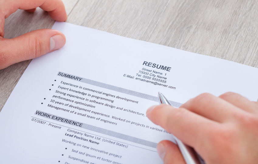 5 steps to creating a nearly perfect resume on careers us news