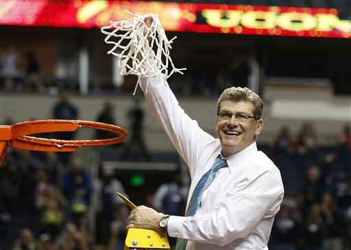 UConn routs Notre Dame 79-58, wins 9th title | Sports News ...