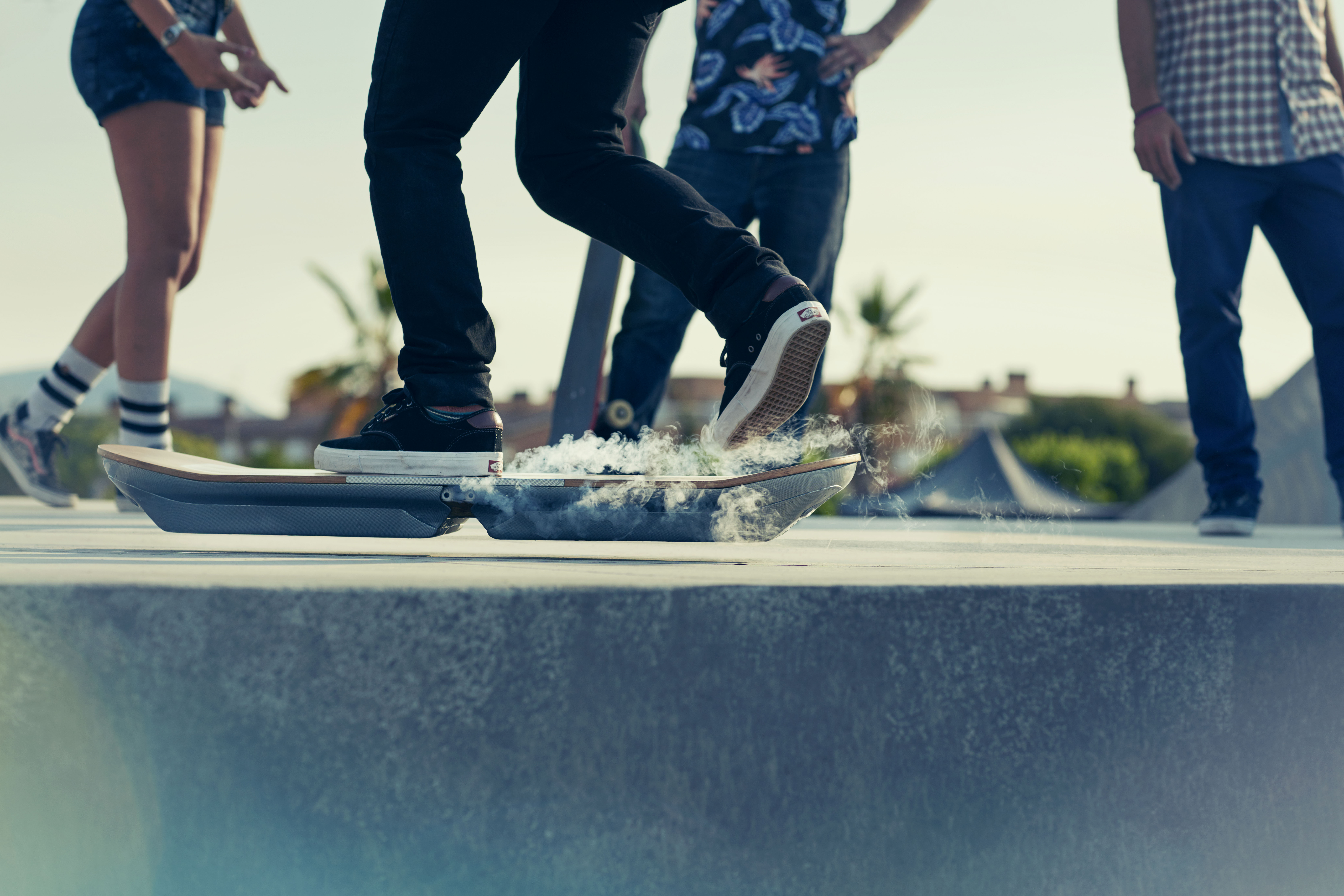 Real Working Hoverboard Lexus Hoverboard Inspired By Back To The Future Us News