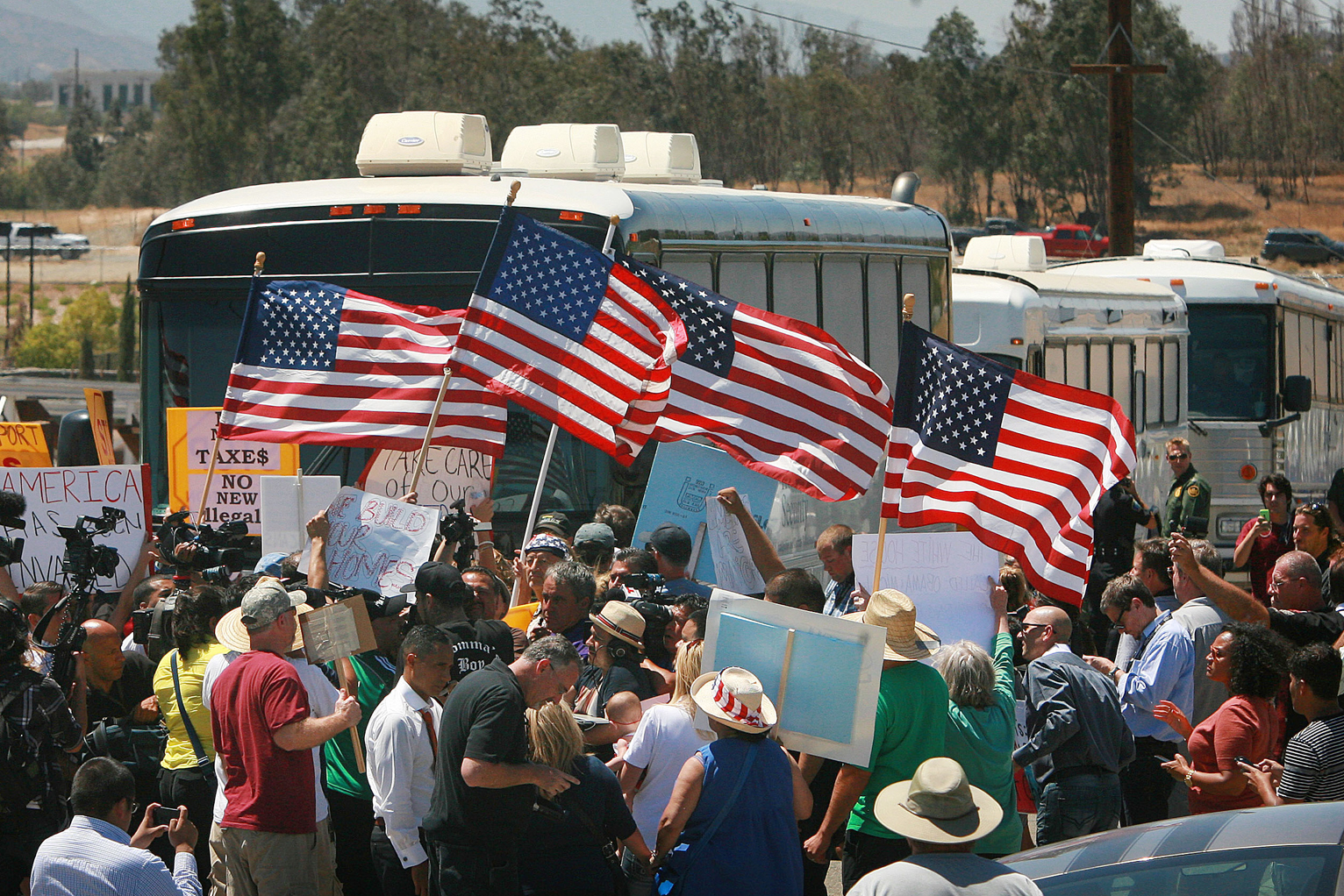 AntiImmigrant Hate Coming From Everyday Americans Politics US