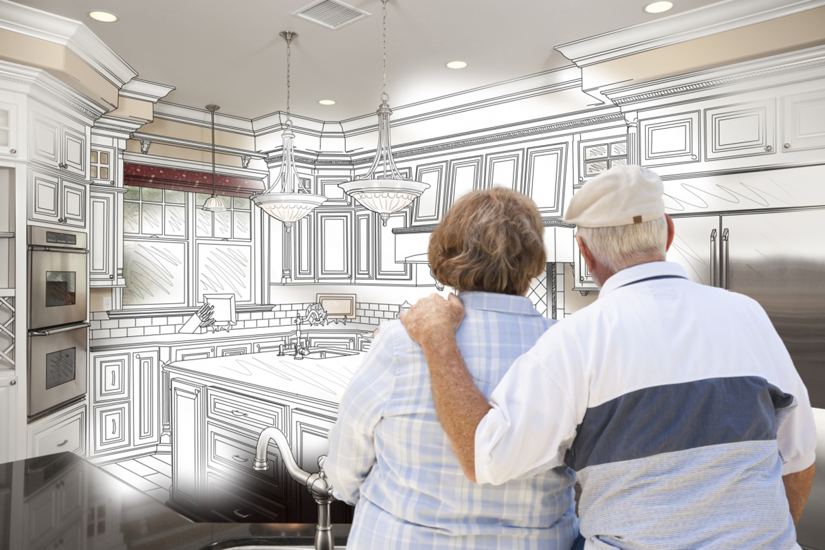 4 mistakes seniors make when remodeling retirement us news Kitchen design for elderly
