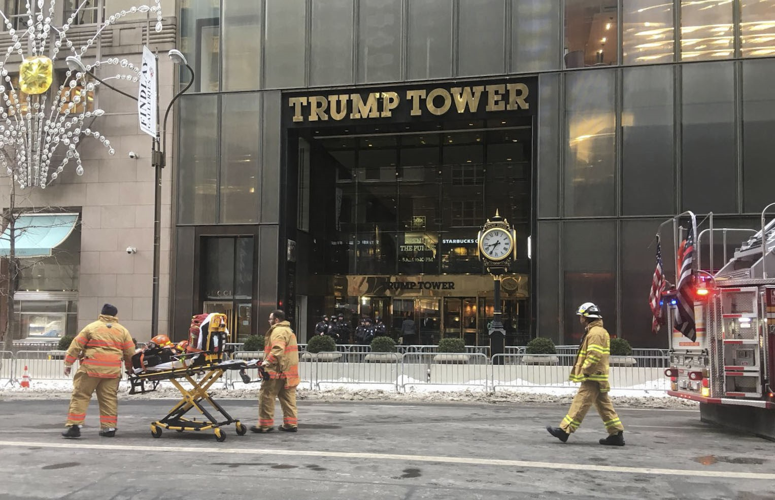 Fire On Trump Tower Roof Under Control Authorities