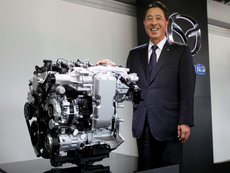 With New Technology Mazda Gives Spark To Gasoline Engine