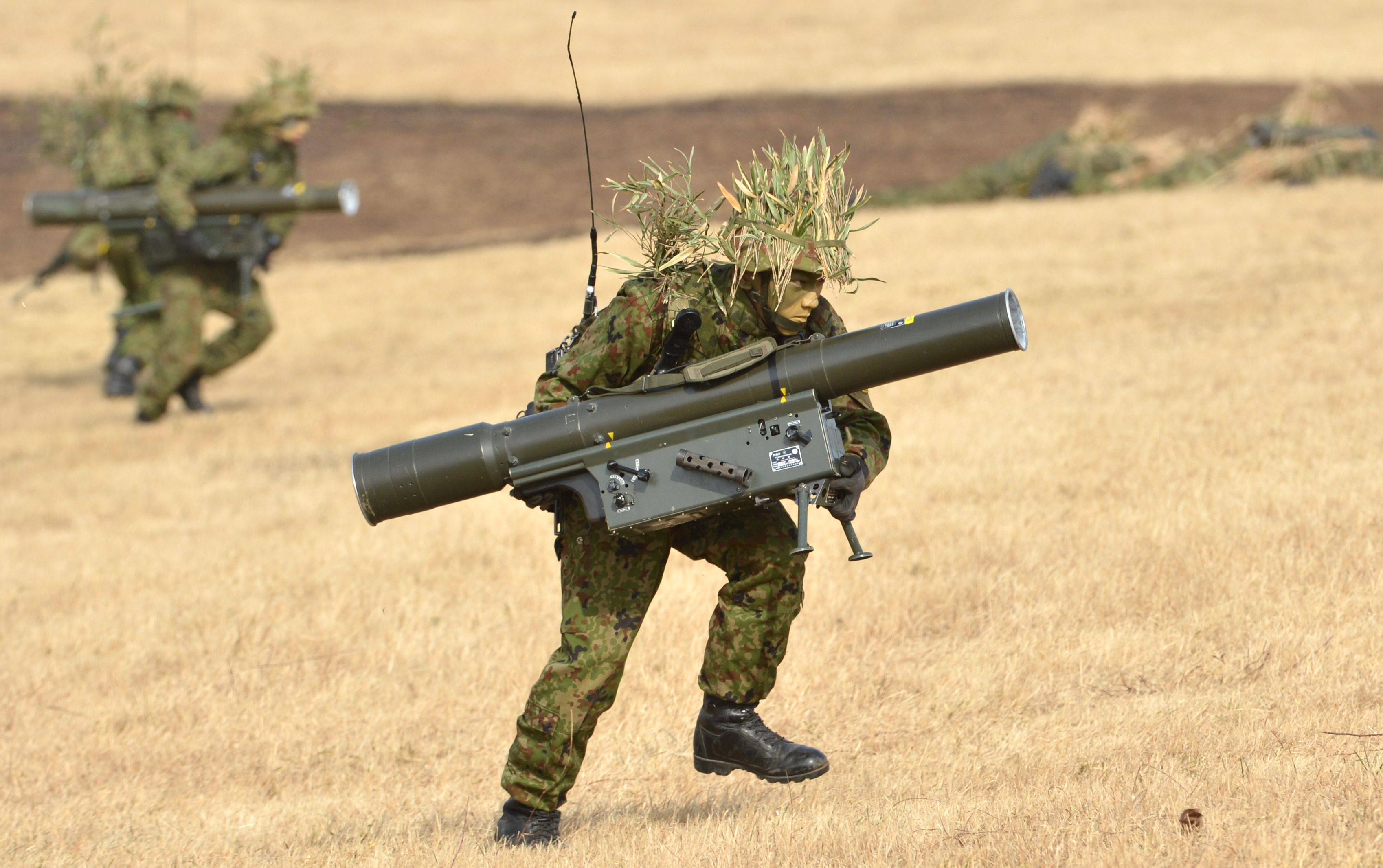 Japan's Armed Forces...