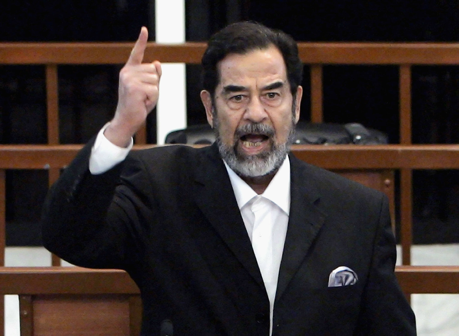 Saddam Hussein Was Executed 10 Years Ago Today | World ... Saddam Hussein Execution