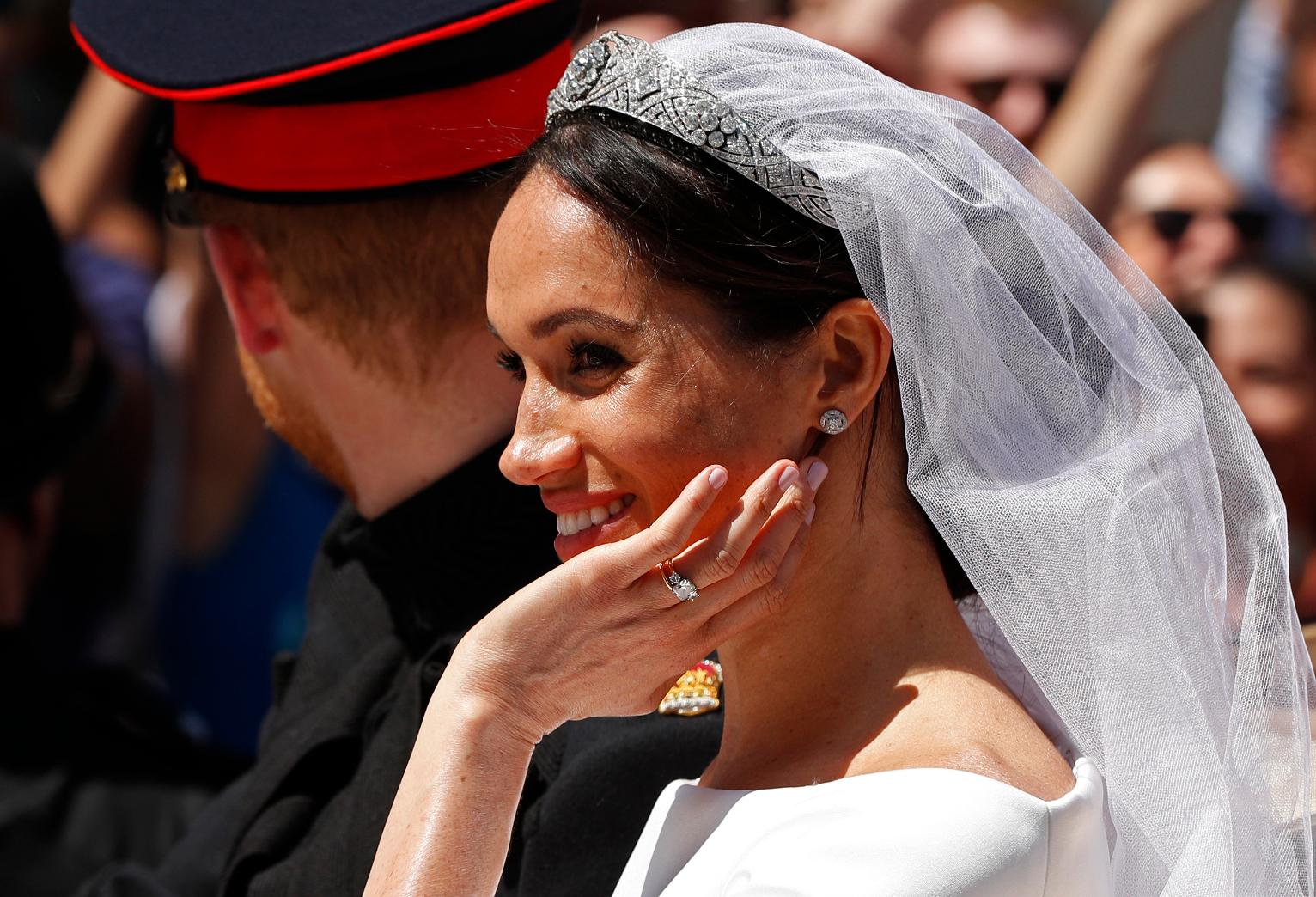 The Latest Markle S Tiara Once Belonged To Queen Mary