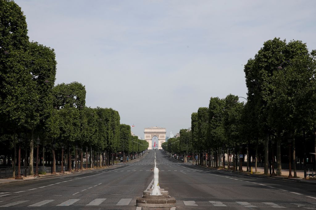 As France Slowly Lifts Its Coronavirus Lockdowns Paris Prepares For A Summer Without Tourists Cities Us News