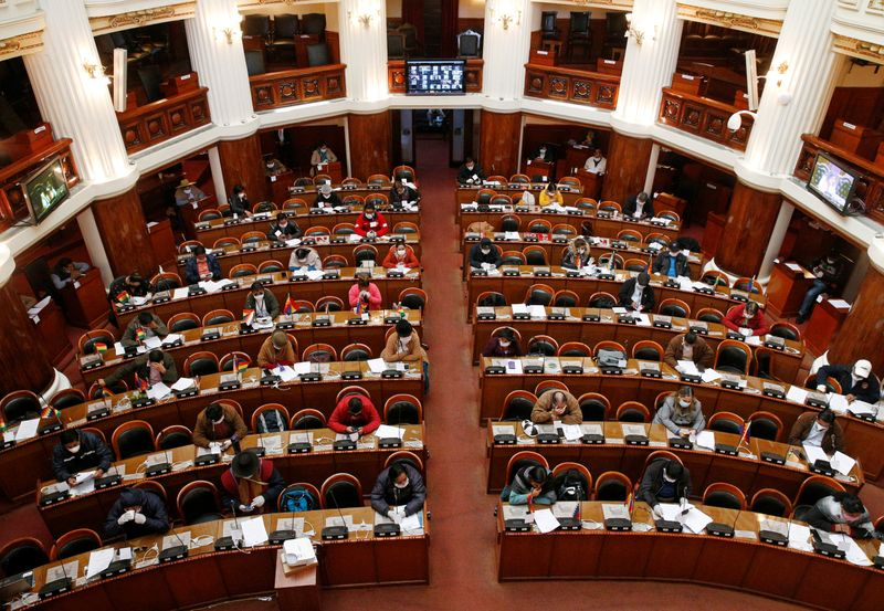 Bolivian Parliament Approves Law Calling For Elections In 90 Days Defying Interim Government World News Us News