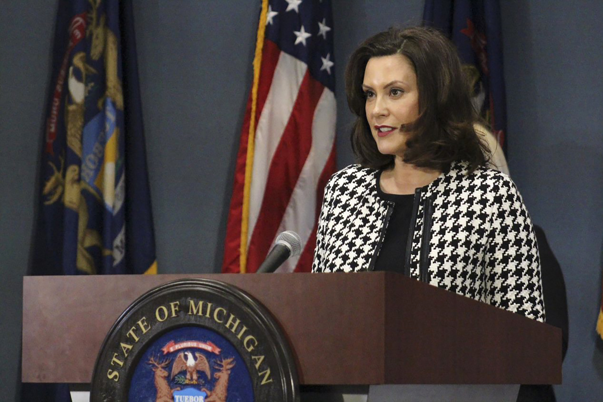 Michigan Gov Gretchen Whitmer Extends Coronavirus Stay At Home Order Eases Restrictions National News Us News