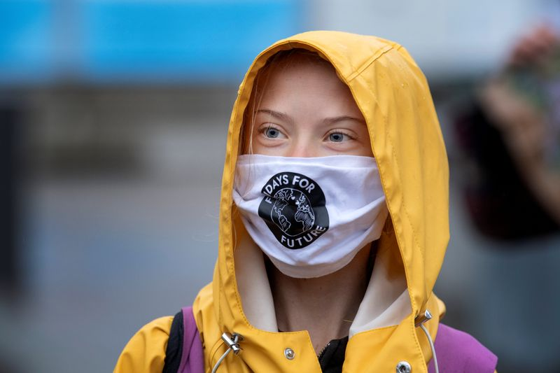 Swedish Climate Activist Greta Thunberg Says Everyone Should Vote for Biden