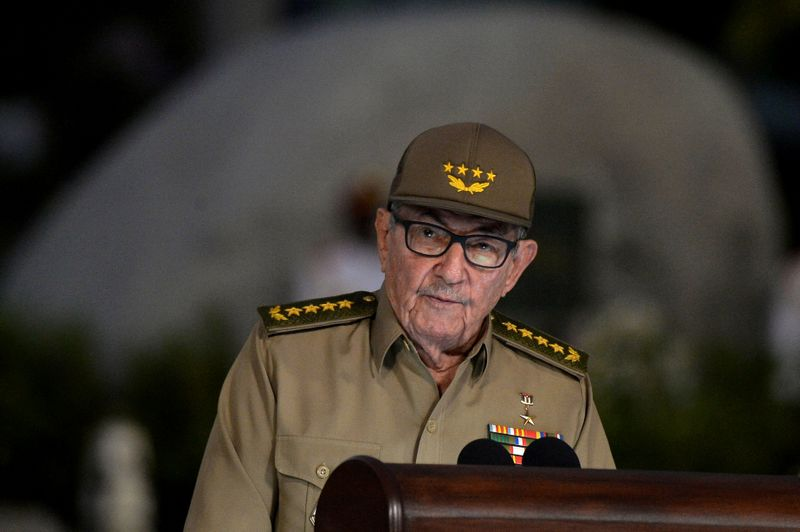 Raul Castro confirms he is passing Cuban Communist Party leadership to new generation