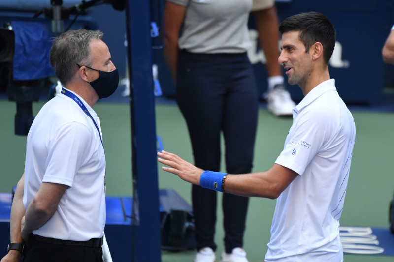 Reaction To Djokovic S Disqualification From U S Open Top News Us News