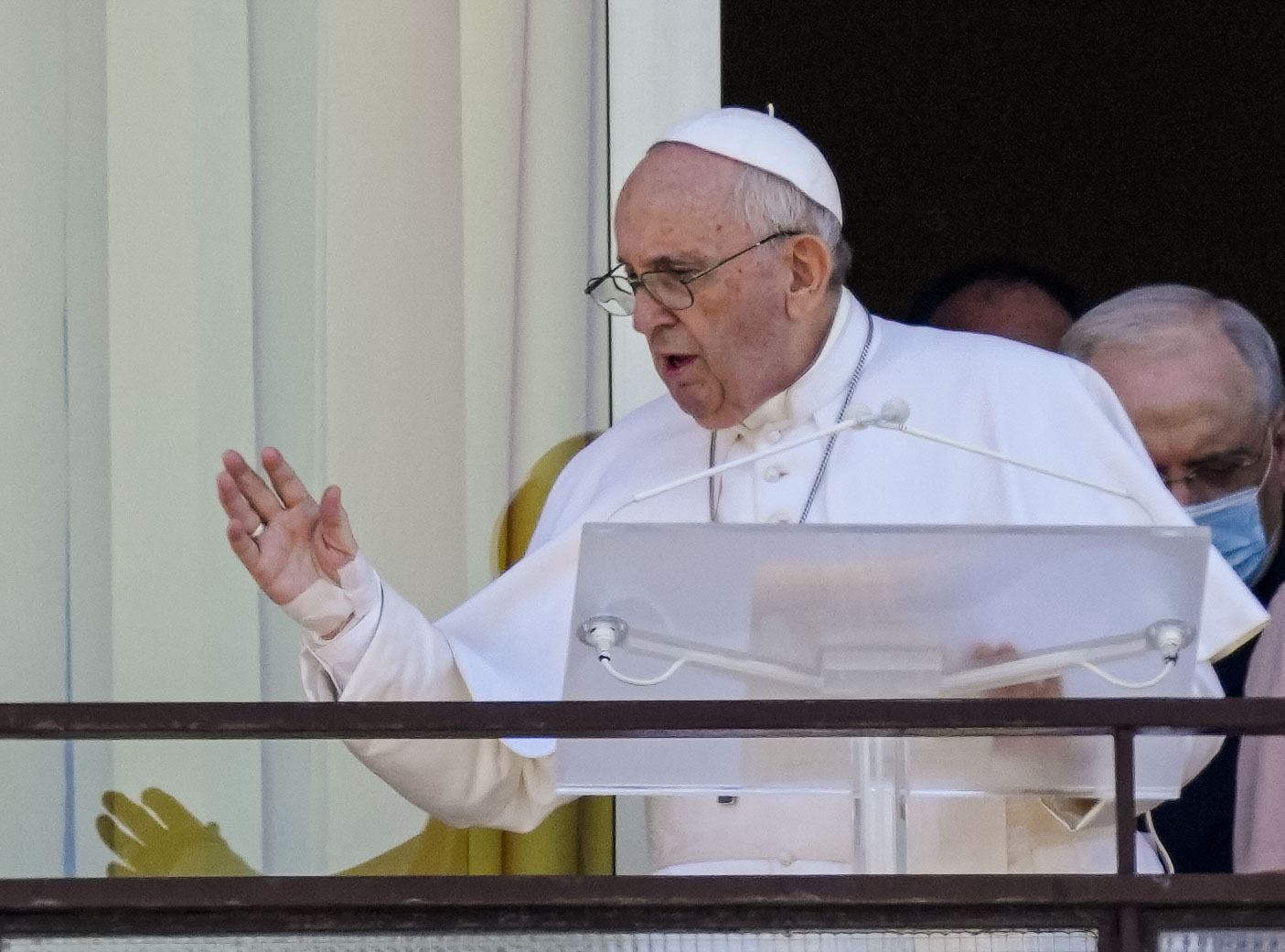Pope Francis Makes First Public Appearance Since Intestinal Surgery