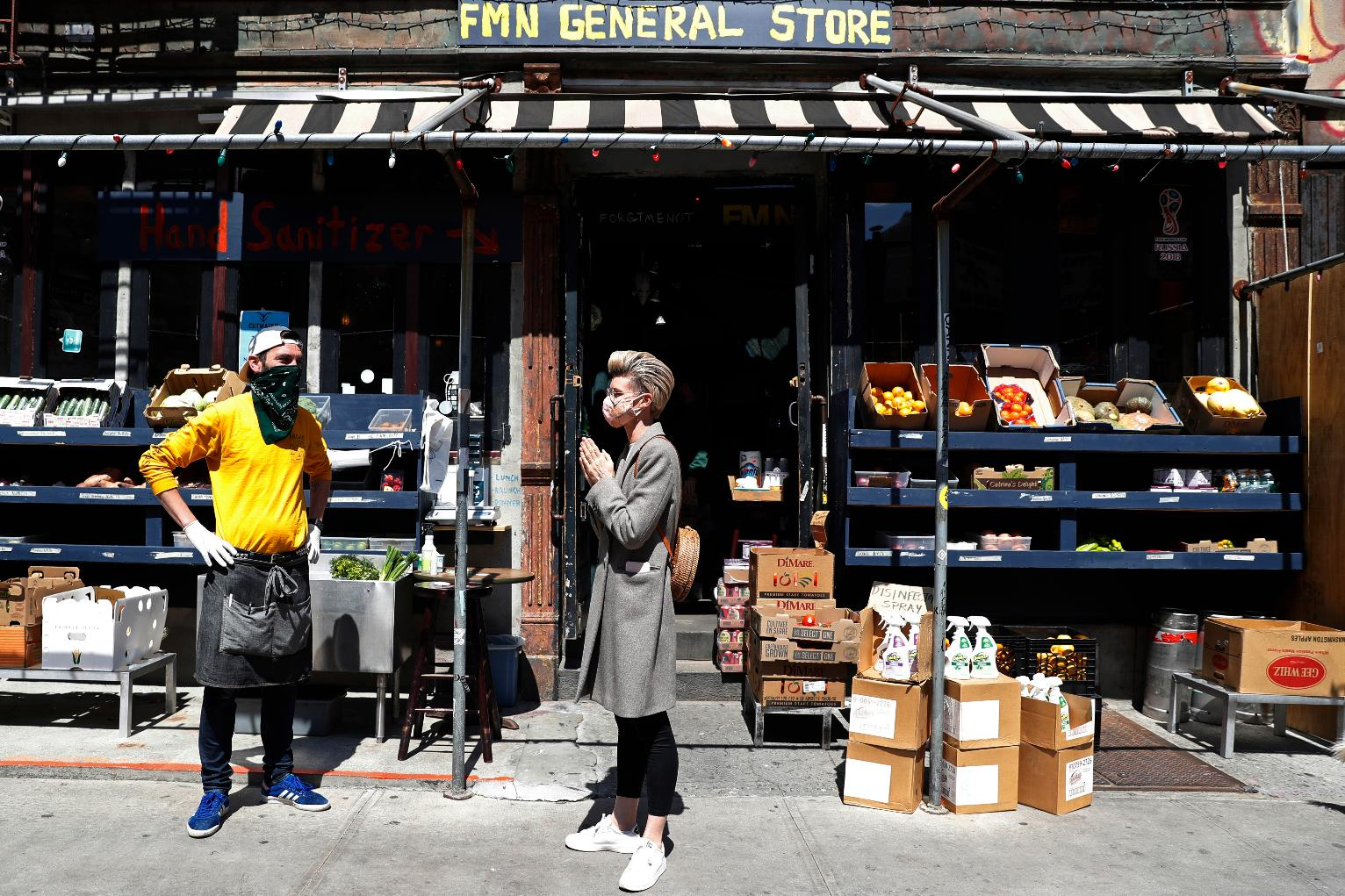 AP PHOTOS: Small Businesses Pivoting During Pandemic | New York News | US  News