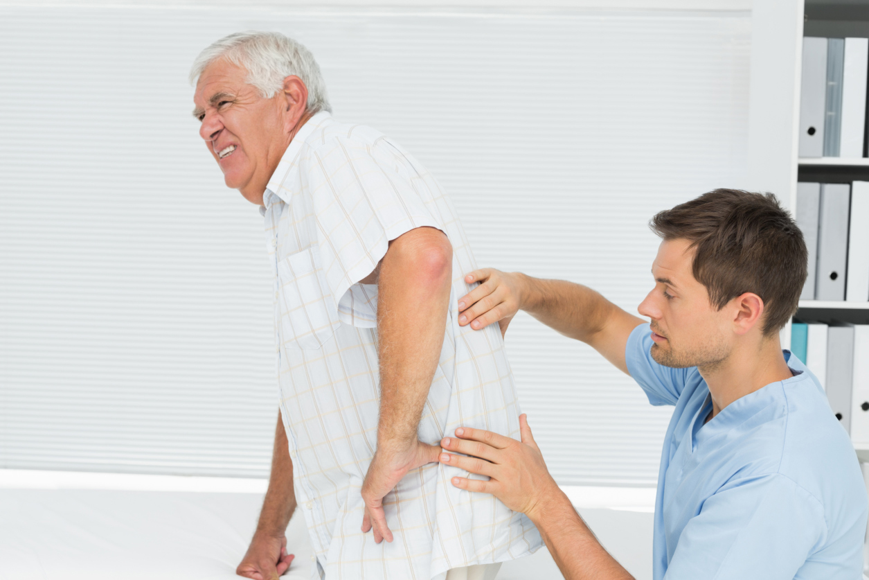 Image result for picture of someone with a back ache