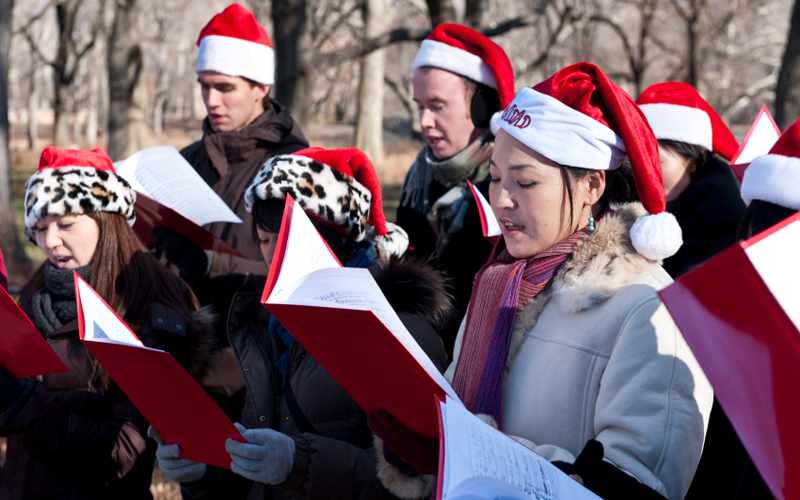 Image result for christmas caroling