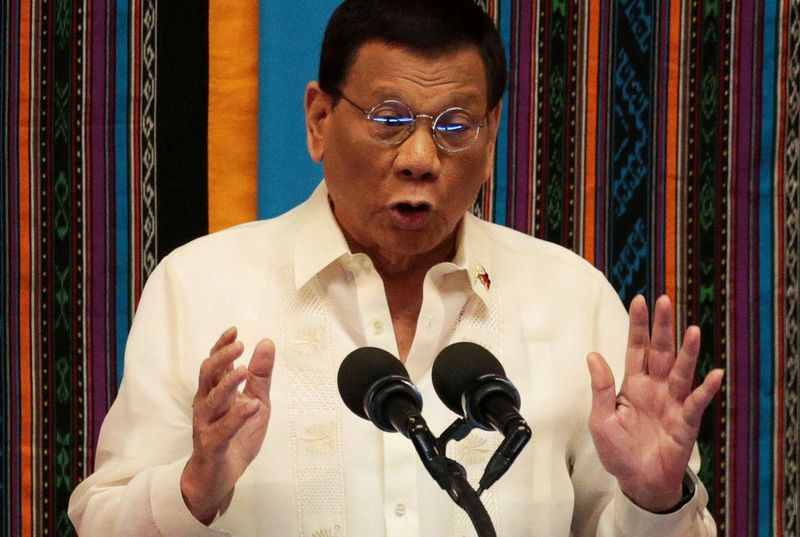 Philippines' President Duterte Clears Police Chief of Over lockdown birthday party