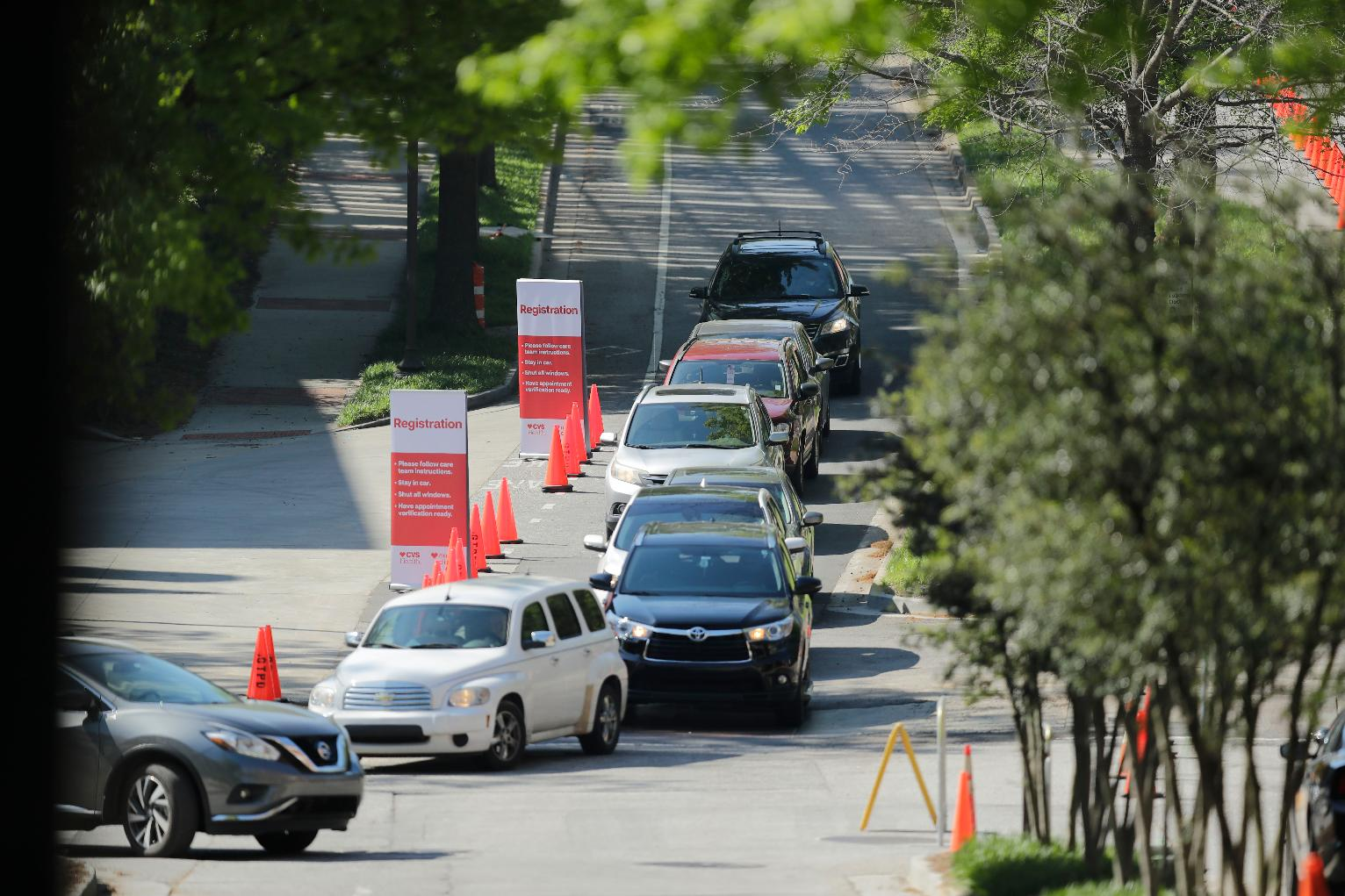Atlanta Mass Virus Tests Begin In Georgia Tech Parking Deck Georgia News Us News