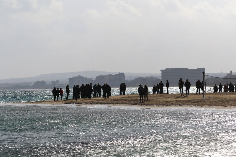 North Cyprus Reopens Beach of Resort Abandoned in 1974 Conflict: Media |  World News | US News