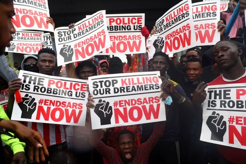 Why Are Nigerians Protesting Against Police Brutality? | World News | US  News