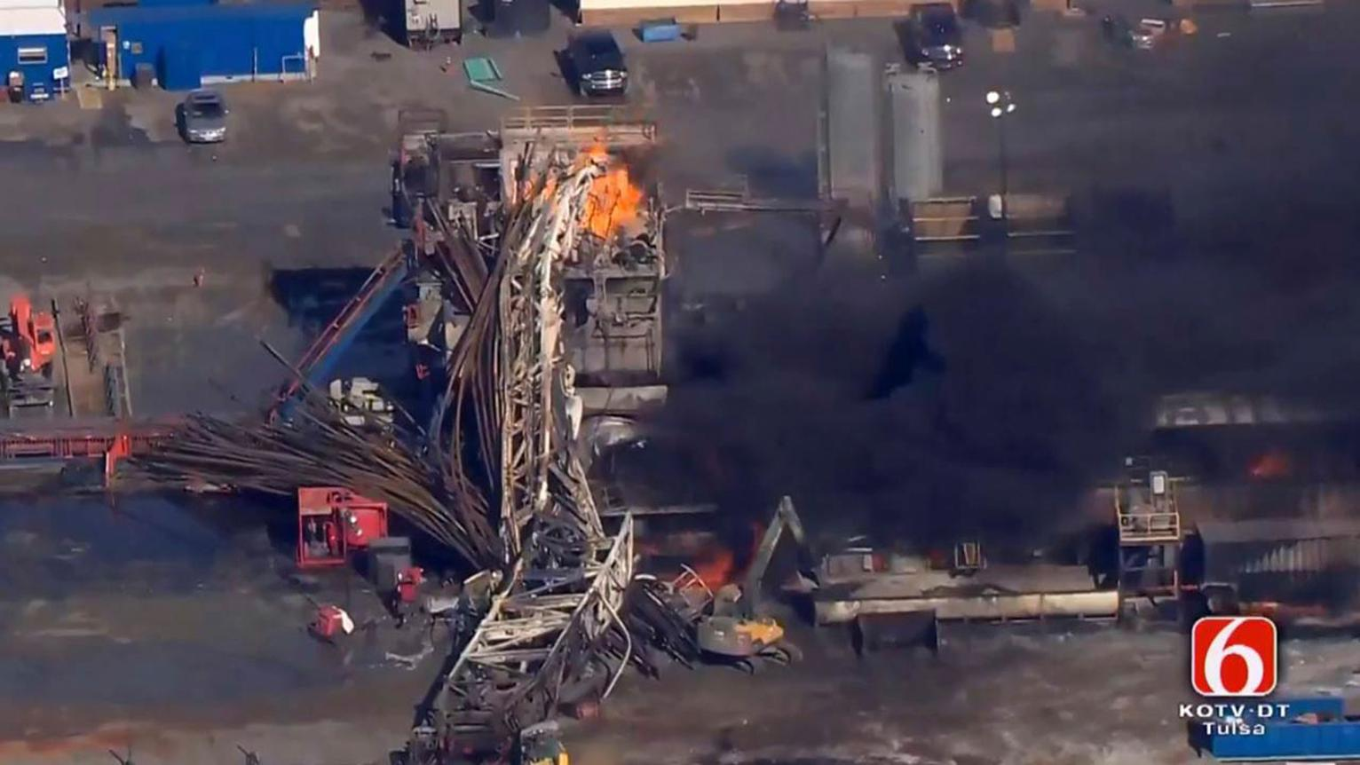 Driller In Oklahoma Explosion Has History Of Fatal
