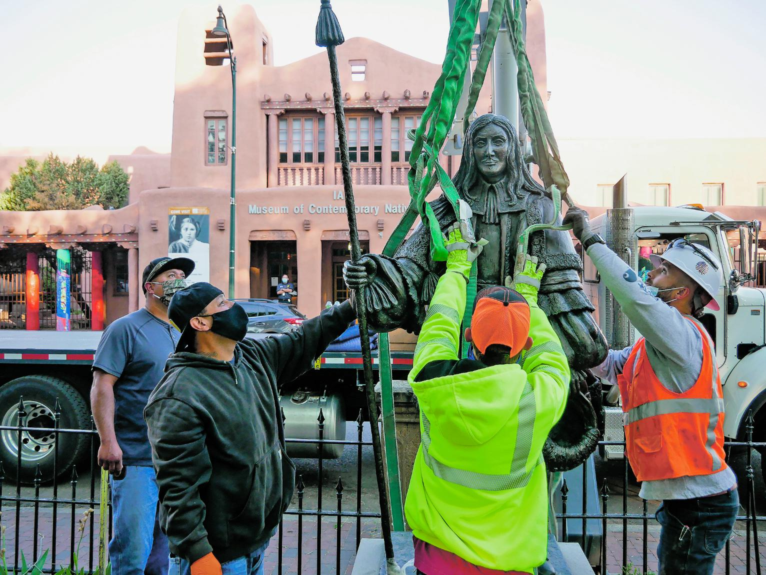 Plan To Remove Colonialism Monuments In Santa Fe Stalls New Mexico News Us News