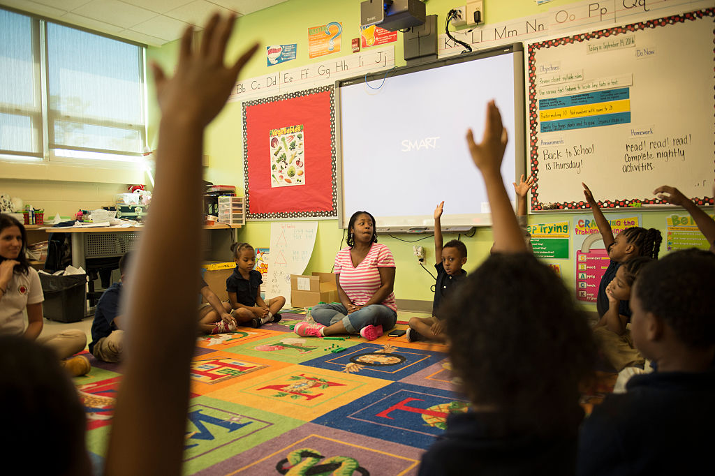Elementary School Rankings >> Drop-Out Risk Plummets for Black Students Who Have One ...