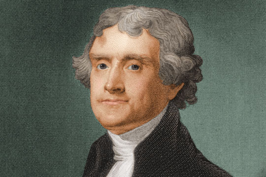 thomas jefferson vice president